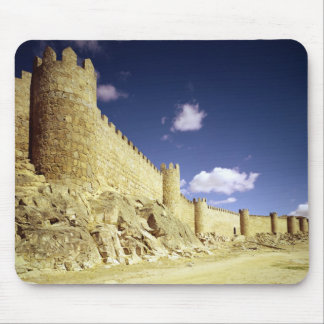 The city walls mouse mat