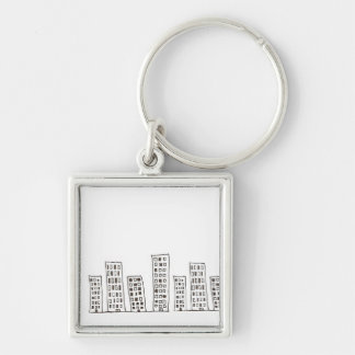 The Cityscape Keychain