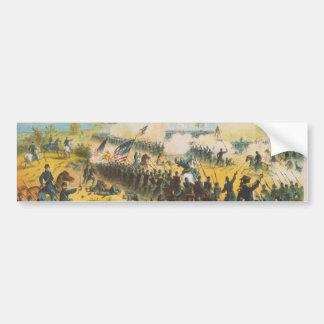 The Civil War Battle of Shiloh Pittsburg Landing Bumper Sticker