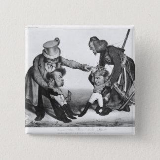 The Civil War in Portugal 15 Cm Square Badge