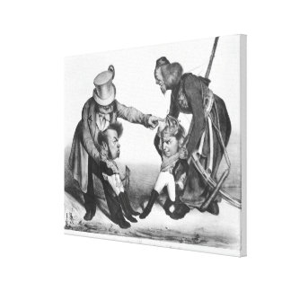 The Civil War in Portugal Canvas Print