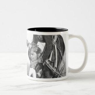 The Civil War in Portugal Two-Tone Coffee Mug