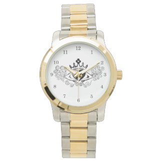 The Claddagh (Black) Wristwatches