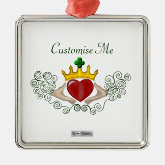 The Claddagh (Full Colour) Christmas Ornament
