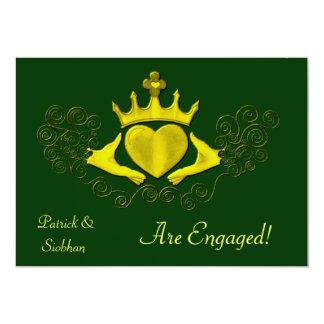 The Claddagh (Gold) Card