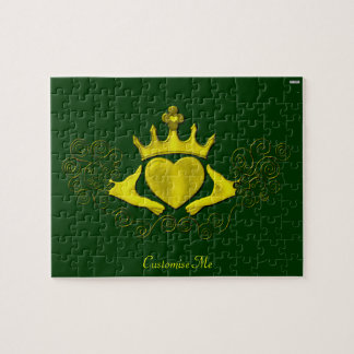 The Claddagh (Gold) Jigsaw Puzzles