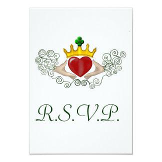 The Claddagh R.S.V.P card (Full Colour)