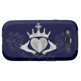 The Claddagh (Silver) Samsung Galaxy S3 Case