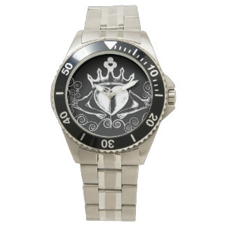 The Claddagh (White) Watch