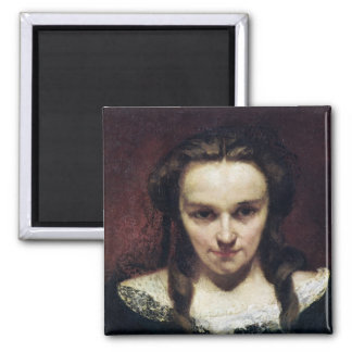 The Clairvoyant or, The Sleepwalker, c.1865 Square Magnet