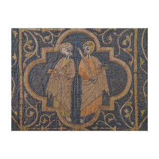The Clare Chasuble Stretched Canvas Print