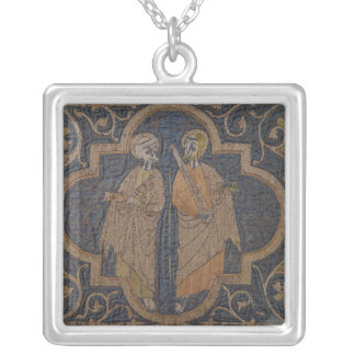 The Clare Chasuble Square Pendant Necklace