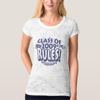 The Class of 2009 Rocks Grad Gear T-Shirt