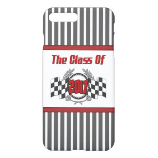 The Class of 2017 Graduation Checkered Flag iPhone 8 Plus/7 Plus Case