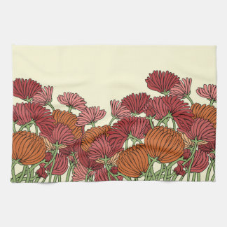 The Classic Flower in the Garden Kitchen Towel