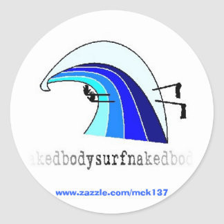 The Classic sticker from BSN Bodysurfing Apparel
