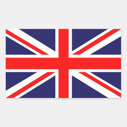 The Classic Union Jack Rectangle Sticker