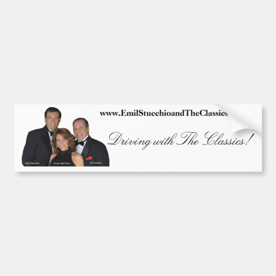 The Classics - Bumper Sticker! Bumper Sticker