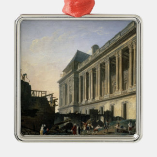 The Clearing of the Louvre colonnade, 1764 Christmas Ornament