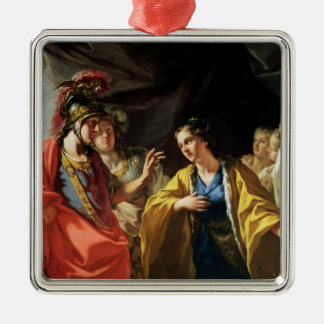 The Clemency of Alexander the Great Christmas Ornament