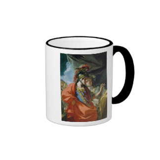 The Clemency of Alexander the Great Ringer Mug