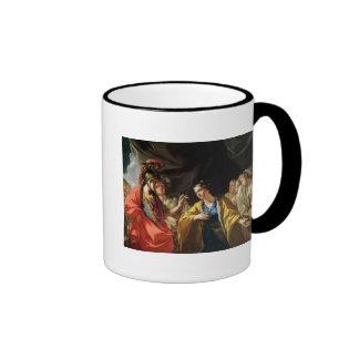 The Clemency of Alexander the Great Ringer Mug