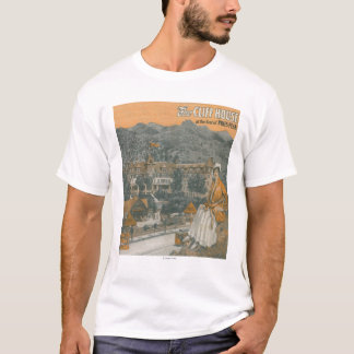 The Cliff House & Pikes Peak T-Shirt