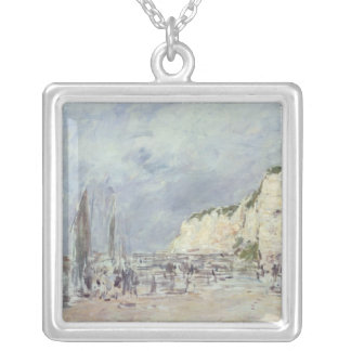 The Cliffs at Dieppe and the 'Petit Paris' Silver Plated Necklace