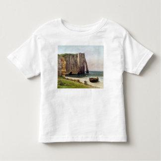 The Cliffs at Etretat, 1869 Toddler T-Shirt