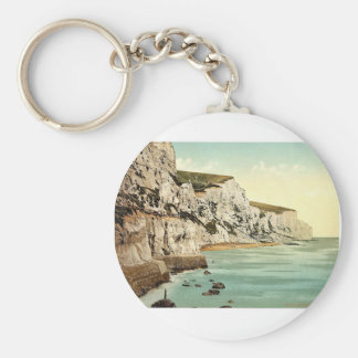 The Cliffs Dover England classic Photochrom Keychains