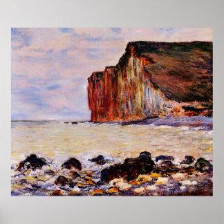 The Cliffs of Les Petites-Dalles,1880 Poster