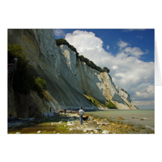 The Cliffs Of Mon, Zealand, Denmark Card