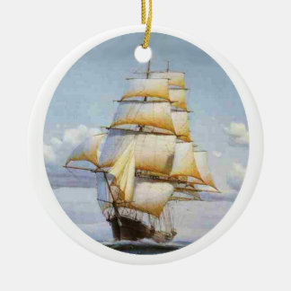 The Clipper Flying Cloud Christmas Ornament