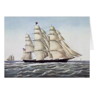 "The Clipper Ship ""Flying Cloud"" Card"