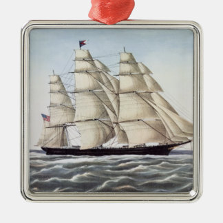 "The Clipper Ship ""Flying Cloud"" Christmas Ornament"