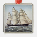"The Clipper Ship ""Flying Cloud"" Christmas Tree Ornaments"