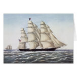 "The Clipper Ship ""Flying Cloud"" Greeting Cards"