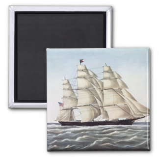"The Clipper Ship ""Flying Cloud"" Magnet"