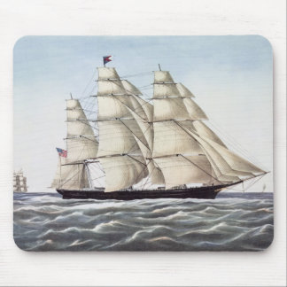 "The Clipper Ship ""Flying Cloud"" Mouse Pad"