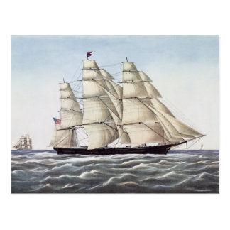 "The Clipper Ship ""Flying Cloud"" Postcard"