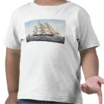 """The Clipper Ship """"Flying Cloud"""" Tee Shirts"""