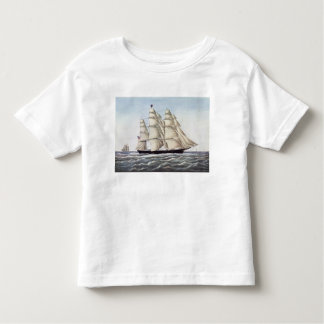 """The Clipper Ship """"Flying Cloud"""" Toddler T-Shirt"""