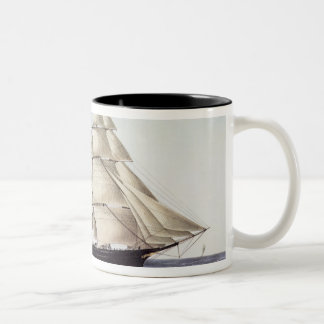 "The Clipper Ship ""Flying Cloud"" Two-Tone Coffee Mug"