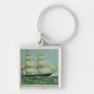 The Clipper ship 'Highflyer', 1111 tons Key Ring