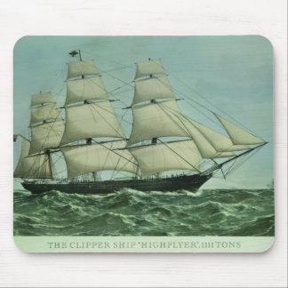 The Clipper ship 'Highflyer', 1111 tons Mouse Mat
