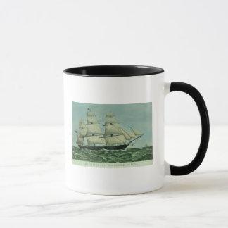 The Clipper ship 'Highflyer', 1111 tons Mug