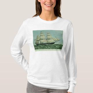 The Clipper ship 'Highflyer', 1111 tons T-Shirt