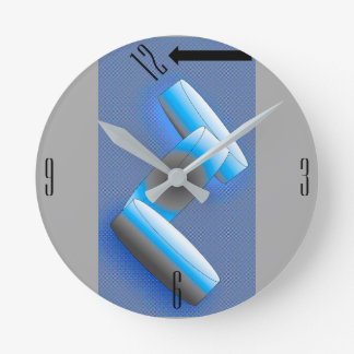 THE CLOCK, i Arts and Designs Round Clock