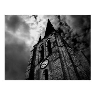 the clocktower post card