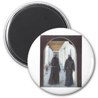 The Cloister 6 Cm Round Magnet